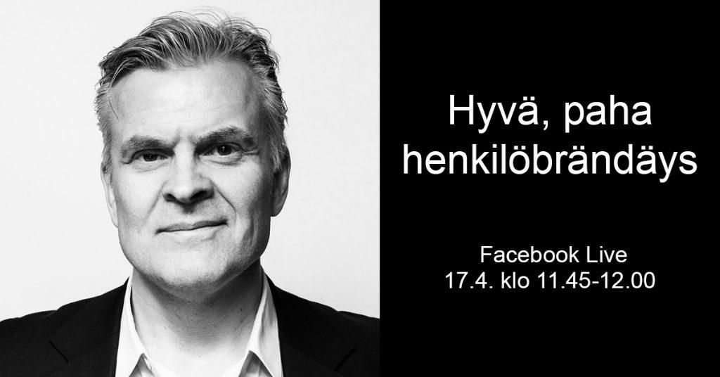 Pasi Sillanpään FB Live 17.4.2018